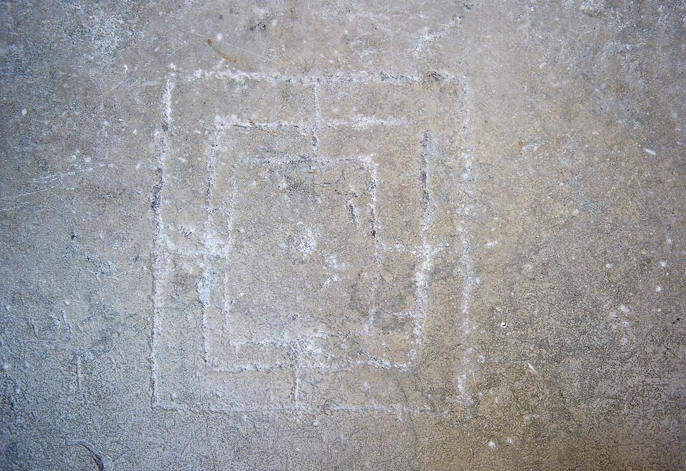 XV Century Graffiti Templar's or Merchant game?