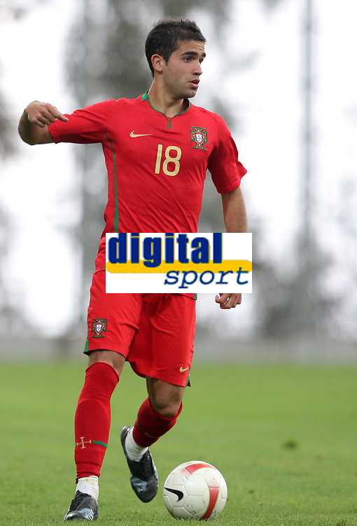 20090324: FUNCHAL, MADEIRA, PORTUGAL - Portugal vs Cape Verde: XIII Madeira International Under 21 Tournament. In picture: Joao Goncalves (Portugal) . <br />PHOTO: Octavio Passos/CITYFILES