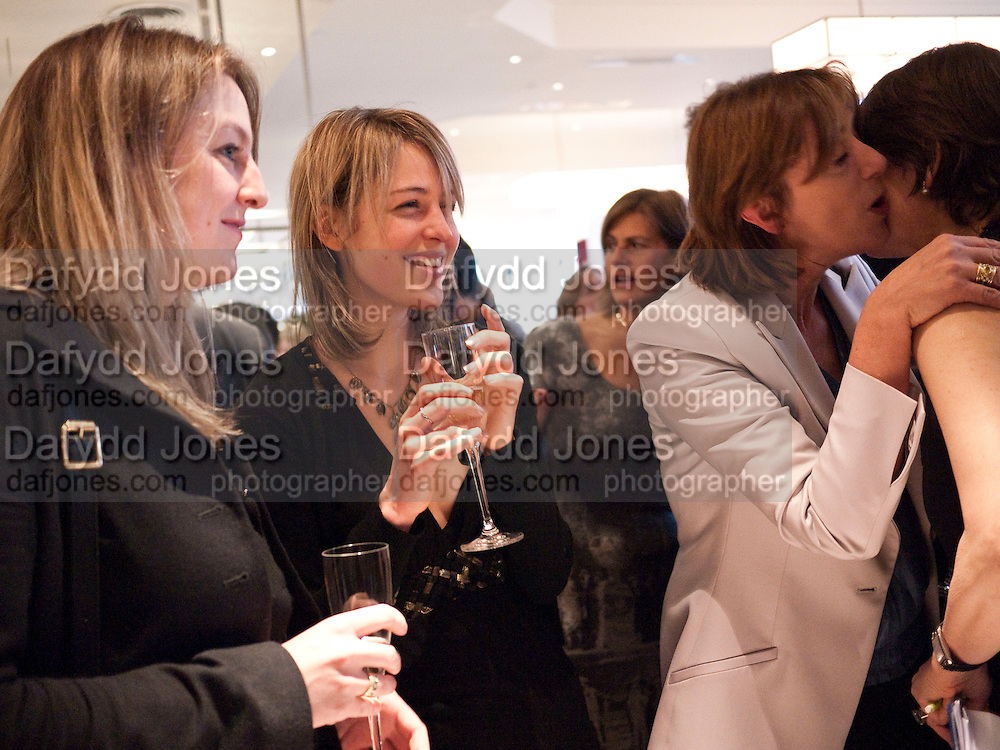 TANYA VON PREUSSEN; LISA WALDEGRAVE; KATHERINE BROOKE CAROLINE WALDEGRAVE, Literary charity First Story fundraising dinner. Cafe Anglais. London. 10 May 2010. *** Local Caption *** -DO NOT ARCHIVE-© Copyright Photograph by Dafydd Jones. 248 Clapham Rd. London SW9 0PZ. Tel 0207 820 0771. www.dafjones.com.<br /> TANYA VON PREUSSEN; LISA WALDEGRAVE; KATHERINE BROOKE CAROLINE WALDEGRAVE, Literary charity First Story fundraising dinner. Cafe Anglais. London. 10 May 2010.