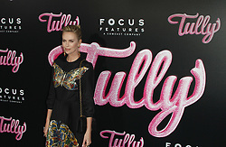 """Tully"" Premiere at The Regal Cinemas in Los Angeles, California on 4/18/18. 18 Apr 2018 Pictured: Charlize Theron. Photo credit: River / MEGA TheMegaAgency.com +1 888 505 6342"