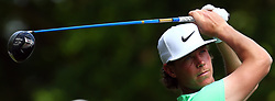May 25, 2017 - Virginia Water, United Kingdom - Kristoffer Broberg of Sweden  during 1st Round for the 2017 BMW PGA Championship on the west Course at Wentworth on May 25, 2017 in Virginia Water,England  (Credit Image: © Kieran Galvin/NurPhoto via ZUMA Press)