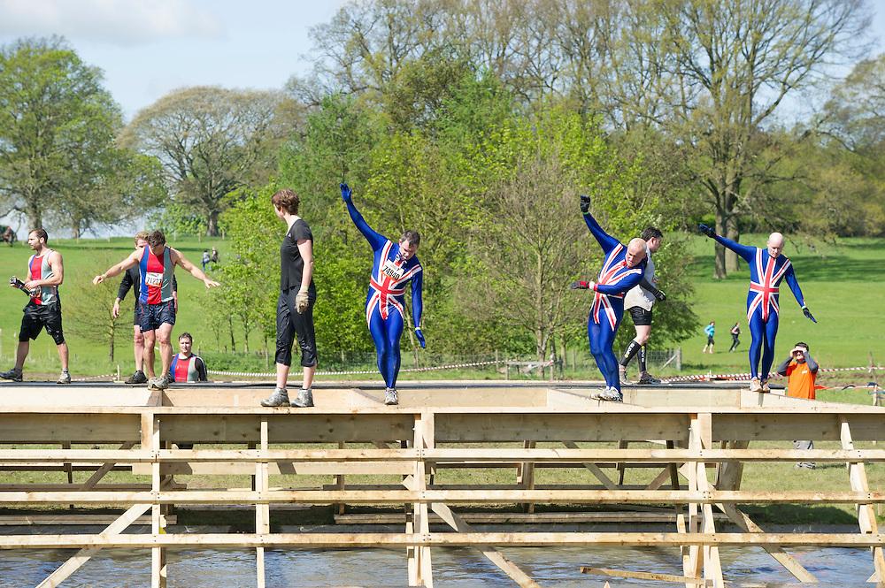 Tough Mudder - May 2012 - Northamptonshire - Balance Bars