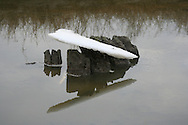 Nieuwebildtzijl, 4 jan. 2006. Noorderleeg of Noarderleech. Buitendijks kweldergebied. Noard Friesland Buitendijks of Noard Fryslân Bûtendyks.
