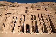 The Temple of Hathor at  Abu Simbel  Abu Simbel, Egypt
