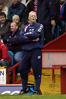 Photo: Olly Greenwood.<br />Crystal Palace v Crewe Alexander. Coca Cola Championship. 15/04/2006. Palace manager Iain Dowie