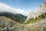 Valbona Pass, Peaks of the Balkans Trail, Albania © Rudolf Abraham