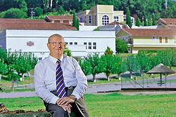 Moysés Luiz Michelon, diretor geral do hotel Villa Michelon, no Vale dos Vinhedos. FOTO: Jefferson Bernardes/ Agência Preview