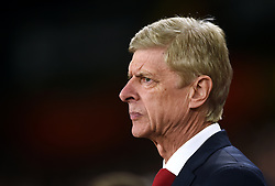 FILE PHOTO: Arsene Wenger is to leave Arsenal at the end of the season, ending a near 22-year reign as manager<br /><br />Arsenal manager Arsene Wenger ... Arsenal v FC Koln - UEFA Europa League - Group H - Emirates Stadium ... 14-09-2017 ... London ... UK ... Photo credit should read: Joe Giddens/EMPICS Sport. Unique Reference No. 32818022 ...
