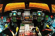 B-2A stealth bomber cockpit