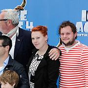 NLD/Haarlem/20120627 - Filmpremiere Ice Age 4, Ernst Daniel Smid en familie
