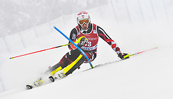 13.11.2016, Black Race Course, Levi, FIN, FIS Weltcup Ski Alpin, Levi, Salalom, Herren, 1. Lauf, im Bild Matej Vidovic (CRO) // Matej Vidovic of Croatia in action during 1st run of mens Slalom of FIS ski alpine world cup at the Black Race Course in Levi, Finland on 2016/11/13. EXPA Pictures © 2016, PhotoCredit: EXPA/ Nisse Schmidt<br /> <br /> *****ATTENTION - OUT of SWE*****