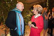 ROLF SACHS; ROSITA SPENCER-CHURCHILL, DUCHESS OF MARLBOROUGH, The Cartier Chelsea Flower show dinner. Hurlingham club, London. 20 May 2013.