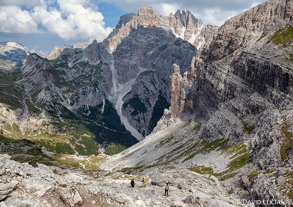 Hiking Tour around Monte Paterno.