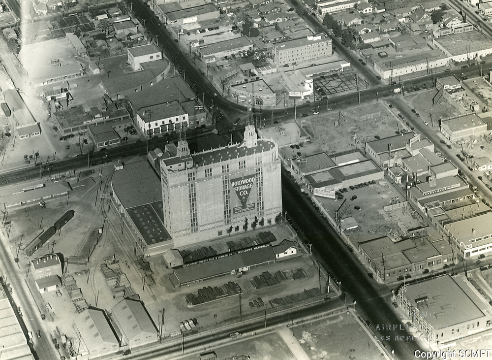 1929 Looking NE at Santa Monica Blvd. & Highland Ave.