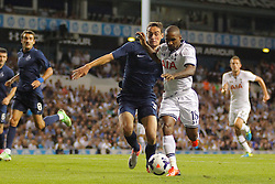29.08.2013, White Hart Lane, London, ENG, UEFA CL Qualifikation, Tottenham Hotspur vs FC Dinamo Tiflis, Rueckspiel, im Bild Tottenham's Jermain Defoe runs with the ball during the UEFA Europa League Qualifier second leg match between Tottenham Hotspur and FC Dinamo Tiflis Zuerich at the White Hart Lane in London, England on 2013/08/29 . EXPA Pictures © 2013, PhotoCredit: EXPA/ Mitchell Gunn <br /> <br /> ***** ATTENTION - OUT OF GBR *****