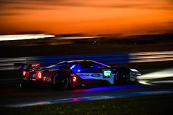 March 14, 2019 - Sebring, Etats Unis - 67 FORD CHIP GANASSI RACING (USA) FORD GT GTLM RYAN BRISCOE (AUS) RICHARD WESTBROOK (GBR) SCOTT DIXON  (Credit Image: © Panoramic via ZUMA Press)
