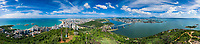 Brasil - ES - Vitoria - Panoramica - Vista de Vila Velha e Vitoria a partir do Morro do Moreno. Foto David Protti