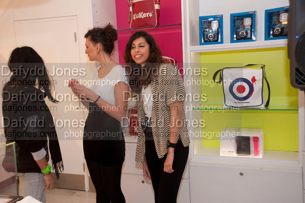 SARA ELDABI, The Nineties are Vintage. Concept Store, Rellik and Workit. The Wonder Room. Selfridges. Oxford St. London. 7 January 2010.