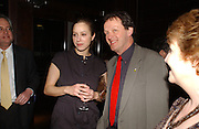 Jodhi May and  Kevin Whately.  Blackbird press night,  Mint Leaf. London. 13 February 2006. ONE TIME USE ONLY - DO NOT ARCHIVE  © Copyright Photograph by Dafydd Jones 66 Stockwell Park Rd. London SW9 0DA Tel 020 7733 0108 www.dafjones.com