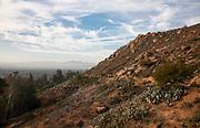 Trail and View Along Mt. Rubidoux