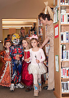 Gilford Public Library Halloween festivities October 29, 2010.