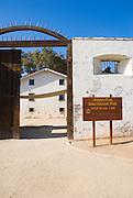 The main gate, Sutter's Fort State Historic Park, Sacramento, California