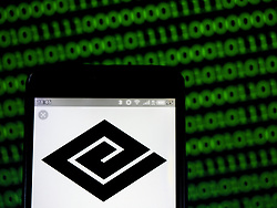 April 27, 2019 - Kiev, Ukraine - In this photo illustration a Keifuku Electric Railroad logo seen displayed on a smart phone. (Credit Image: © Igor Golovniov/SOPA Images via ZUMA Wire)