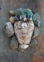 Reiki On The Rocks  Still Life Photography. Practice good vibrations.