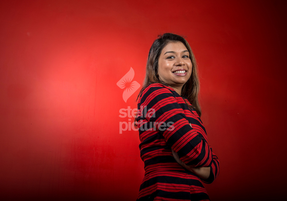 Labour's prospective parliamentary candidate for seat of Hampstead and Kilburn, Tulip Siddiq. <br /> Picture by Daniel Hambury/Stella Pictures Ltd +44 7813 022858<br /> 04/02/2015