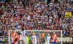 September 1, 2017 - Harrison, NJ, USA - Harrison, N.J. - Friday September 01, 2017: American Outlaws during a 2017 FIFA World Cup Qualifying (WCQ) round match between the men's national teams of the United States (USA) and Costa Rica (CRC) at Red Bull Arena. (Credit Image: © John Todd/ISIPhotos via ZUMA Wire)