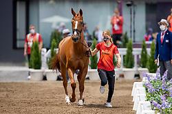 Auffarth Sandra, GER, Viamant Du Matz, 233<br /> Olympic Games Tokyo 2021<br /> © Hippo Foto - Dirk Caremans<br /> 29/07/2021