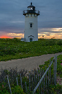 Race Point Lighthouse in Provincetown, Cape Cod.