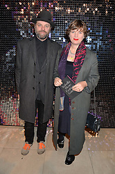GAVIN TURK and DEBORAH CURTIS at a private view of Isabella Blow: Fashion Galore! held at Somerset House, London on 19th November 2013.