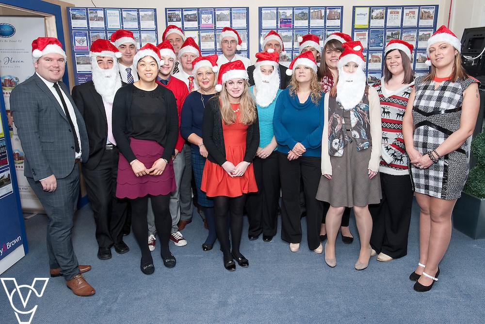 Starkey and Brown 2014 staff Christmas photograph