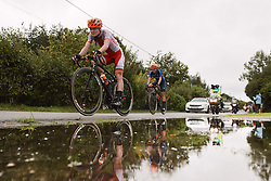 Marta Lach (POL) at the 2020 UEC Road European Championships - Elite Women Road Race, a 109.2 km road race in Plouay, France on August 27, 2020. Photo by Sean Robinson/velofocus.com