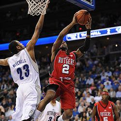NCAA Basketball - Rutgers at Seton Hall - Jan 29, 2009
