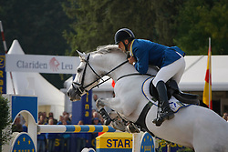 Corten Stefan (BEL) - Calvados Z<br /> World Championship Young Horses Lanaken 2008<br /> Photo Copyright Hippo Foto