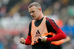 Wayne Rooney of Manchester United - Mandatory byline: Rogan Thomson/JMP - 07966 386802 - 30/08/2015 - FOOTBALL - Liberty Stadium - Swansea, Wales - Swansea City v Manchester United - Barclays Premier League.
