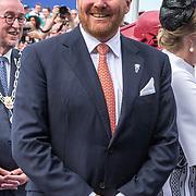 NLD/Terneuzen/20190831 - Start viering 75 jaar vrijheid, Koning Willem Alexander
