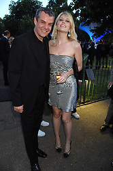 MEREDITH OSTROM and DANNY HUSTON  at the annual Serpentine Gallery Summer Party in association with Swarovski held at the gallery, Kensington Gardens, London on 11th July 2007.<br />