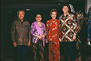 President Reagan with Suharto of Indonesia on May 1, 1986<br />Photo by Dennis Brack
