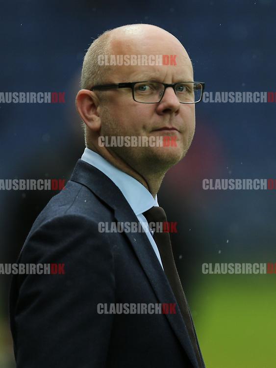 FODBOLD: Sportsdirektør Per Rud (Brøndby) før kampen i Superligaen mellem Brøndby IF og FC Midtjylland den 8. maj 2014 på Brøndby Stadion. Foto: Claus Birch