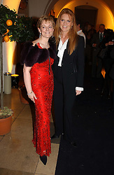 Left to right, JO MALONE and SARAH, DUCHESS OF YORK<br />