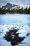 Winter in Tuolumne Meadows Yosemite National Park