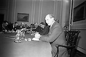 1966 - Taoiseach Jack Lynch T.D., holds his first press conference as Taoiseach