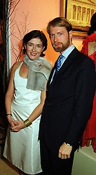 PRINCE & PRINCESS NICOLAS GUEDROITZ at a party in London on 7th December 1999.MZT 3