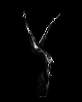 The Alchemy series by photographer Michel Leroy explores the singular beauty of the human form. Moments of sculptural balance and anticipation define the graceful lines and impossible gestures of these vivid B&W images. The technique is notable for the tactile permanence of flesh revealed through the in-camera process.