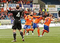 Fotball, <br /> 30.06.2011 , <br /> europa league , <br /> 1 quaql 1 leg,<br /> Aalesund - neath fc 4-1 ,<br /> Color line stadion ,  <br /> <br /> Magnus sylling olsen<br /> Michael barrantes<br /> fredrik ulvestad aalesund<br /> <br /> Kristian o'leary - neat<br /> <br /> Foto: Richard brevik , Digitalsport