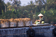 Vietnam, floating market