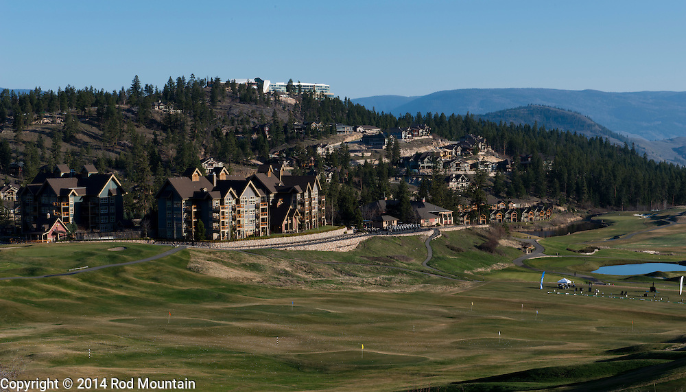 Predator Ridge Golf Course in the Okanagan.